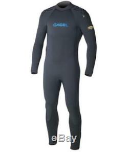 XCEL 7/6mm Thermoflex UltraStretch Men's Full Wetsuit SIZE LARGE