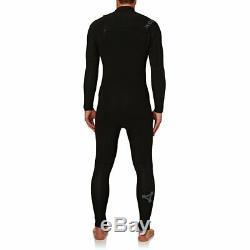 XCEL Comp X 4/3mm Chest Zip Wetsuit Fullsuit Men's Large Tall, Black