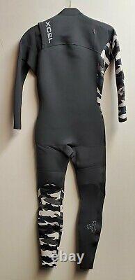 XCEL Men's 2mm COMP X Chest-Zip Wetsuit GSN Size Large Short NWT LAST ONE