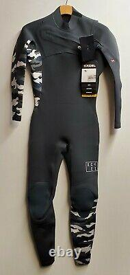 XCEL Men's 2mm COMP X Chest-Zip Wetsuit -GSN Size Large Short NWT LAST ONE LEFT