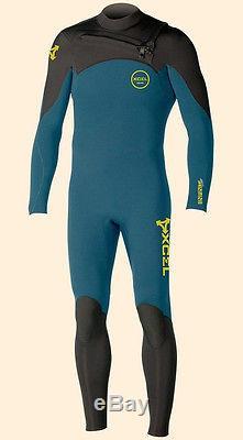 XCEL Men's 3/2 INFINITI COMP CZ Wetsuit DMB Large NWT