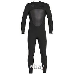 XCEL Men's 4/3 AXIS X Chest-Zip Wetsuit BLK Large Short NWT
