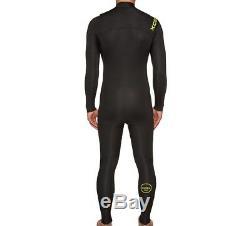 XCEL Men's 4/3 COMP CZ Wetsuit BLK Large Short NWT LAST ONE LEFT