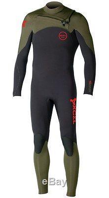 XCEL Men's 4.3 INFINITI COMP CZ Wetsuit BMS Large NWT