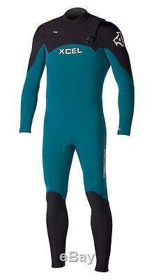 XCEL Men's 4.3 INFINITI COMP X2 Wetsuit EEB Large Short NWT Reg $600