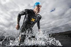 XTERRA Mens Volt Triathlon Full Body Wetsuit 3/2mm Medium/Large