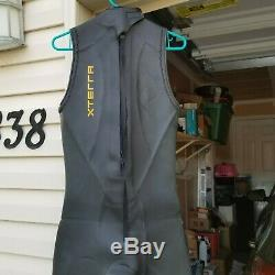 XTERRA VORTEX 4 Full Body Open Water Triathalon Wetsuit Men's Medium Large