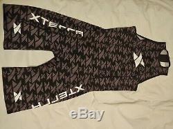 XTERRA Valor Speed Suit (wetsuit) Mens Black/Gray Large (retails for $300)