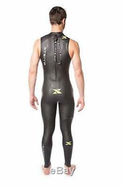 XTERRA Volt Sleevless Wetsuit Mens M/L Medium Large Black NEW! 2019