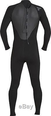 Xcel Axis Fullsuit 4/3mm Wetsuit Men's Large, Black