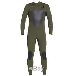 Xcel Axis Mens 5/4 Chest Front Zip Wetsuit Winter Lagre L Ivy Green Warm New
