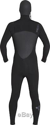 Xcel Drylock 6/5mm Hooded Wetsuit Men's Large, Black