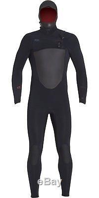Xcel Drylock 6/5mm Hooded Wetsuit Men's X-Large, Black