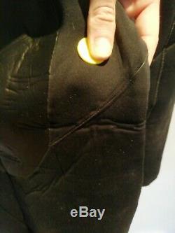 Xcel Drylock Hooded 43 Wetsuit Black Mens Large Used
