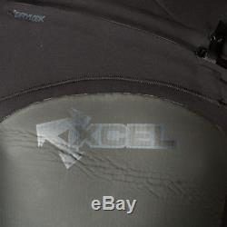 Xcel Drylock Infiniti Hooded 4/3 mm Wetsuit Size XL Extra Large Black NWT