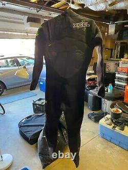 Xcel Drylock Mens 4/3 Large Wetsuit