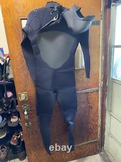 Xcel Men's 6/5mm Infiniti X2 TDC Hooded Chest Zip Fullsuit Wetsuit Large