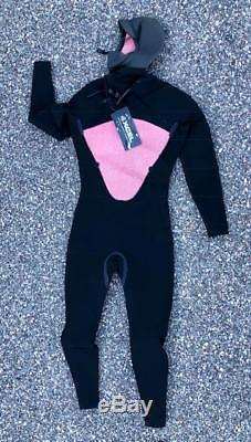 Xcel Men's Axis 5/4 Hooded Front Zip Fullsuit Large Black