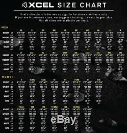 Xcel Mens 3/2mm Axis x Front Zip Fullsuit Wetsuit Size XX-Large