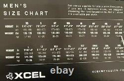 Xcel Mens Full Wetsuit Size Large L Drylock 4/3 MSRP $410