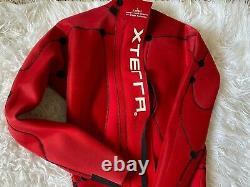 Xterra Triathlon Full Wetsuit Men's Large Red