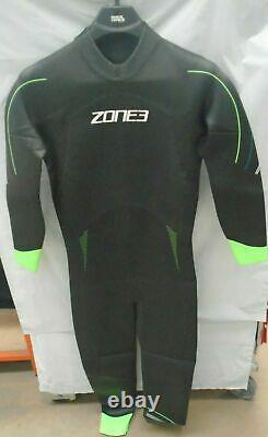 Zone 3 Mens Azure Triathlon / SUP / Kayak / Open Water Swimming Wetsuit Large