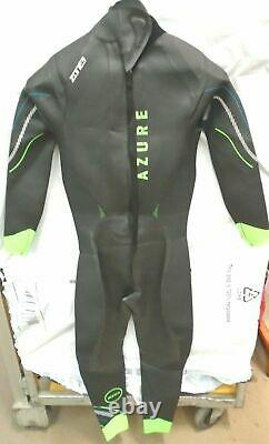 Zone 3 Mens Azure Triathlon SUP Open Water Swimming Wetsuit Large