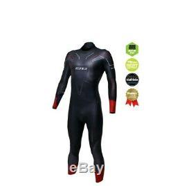 Zone 3 Vanquish Men's Triathlon Swimming Wetsuit Large