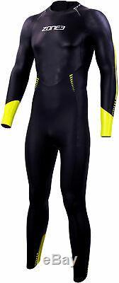 Zone3 Advance Mens Wetsuit Black